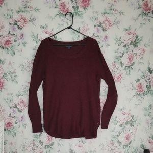 American Eagle Burgundy XL Sweatshirt